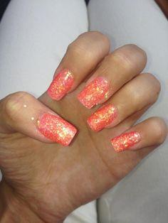 glitter nails ♥