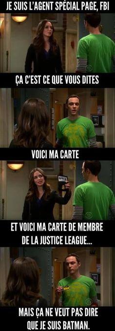 J'adore Sheldon ! Haha Funny, Hilarious, Lol, The Bigbang Theory, Funny Conversations, Some Jokes, Funny True Quotes, Image Fun, Geek Humor