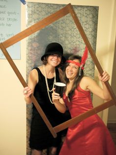 Roaring 20s party photo booth, part 1 by comma_police, via Flickr