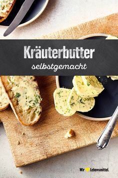 A classic, a must for any cookout: Homemade herb butter with parsley. Serve with baguette or pita bread. Grilled Chicken Recipes, Chicken Wing Recipes, Crock Pot Tacos, Baguette, Sprout Recipes, Crockpot Recipes, Vegan Recipes, Vegetarian Soup, Herb Butter