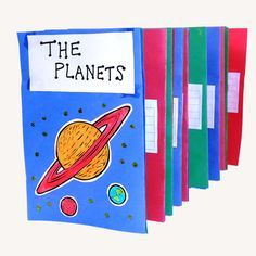 Planet Book - Make your very own book about the planets!