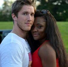 www.BlackwhiteCupid.com - Beautiful interracial couple #love #wmbw #bwwm