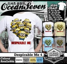 Kaos Despicable Me Minion | Part 1   Visit Our Website DakocanClothing.com  Hubungi Kami Pin BB : 33016003 Whatsapp: 08888566032