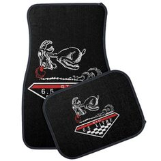 GTO Muscle Car 6.5 litre Badge, Emblem White Car Floor Mat | Zazzle.com Car Mats, Car Floor Mats, Custom Car Accessories, Dodge Charger Rt, Lifted Ford Trucks, Bumper Stickers, Custom Cars, Gifts For Dad, Muscle Cars