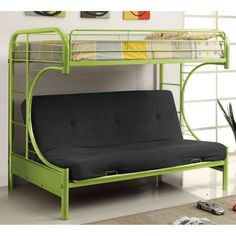 ravens contemporary twin over futon bunk bed   bunk beds  u0026 loft beds at hayneedle bedroom futon bunk bed assembly diagram with futon bunk bed      rh   pinterest