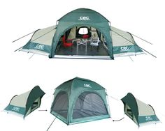 Modular tents, great for bugging out with family