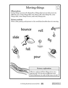 ngss kindergartenps21 push and pull science pushes