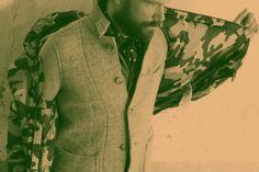 CAMO CLASSIC – Piumino SUN68, giacca N.C.D., sciarpa ALPHA, camicia BRIAN DALES, pantaloni TRUENYC., cintura ORCIANI, scarpe SMITH'S AMERICA...