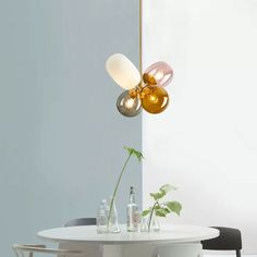 Modern Lovely Chandelier Colorful Glass Balloon Ceiling Light for Girls Room/Nursery - Chandeliers - Ceiling Lights - Lighting Cool Lighting, Soft Lighting, Colored Glass, Contemporary Ceiling Light, Glass Shades, Ceiling Lights, Chandelier Lighting, Balloon Ceiling, Diffused Light
