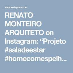 """RENATO MONTEIRO ARQUITETO on Instagram: """"Projeto  #saladeestar #homecomespelho clientes super aprovaram"""" Instagram, Diy And Crafts, Log Projects, Arquitetura, Ideas"""