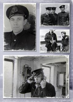 THE USSR. Caspian sailors. 1950-60-ies. Young journalist Vitaly Stupak years.