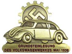 KdF Wagen Commemorative Badge May 1938 BRONZE