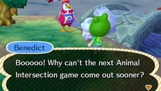 Animal Intersection. They know how to have fun. | Community Post: 22 Reasons Animal Crossing Villagers Are The Realest