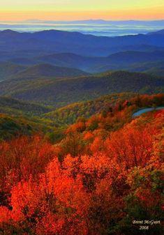 Blue Ridge Parkway, Blue Ridge Mountains, Great Smoky Mountains, Colorado Mountains, Mountain Photography, Landscape Photography, Nature Photography, Beauty Dish, Autumn Scenes