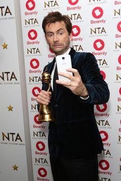 And the award for Best David Tennant In A David Tennant goes to. David Tennant In Places He Shouldn't Be! John Mcdonald, David Tennant Doctor Who, Michael Sheen, Broadchurch, John Barrowman, 10th Doctor, British Actors, Scottish Actors, Daily Photo