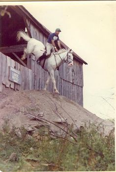 Eventers don't just jump *over* things; sometimes we jump *out* of them.