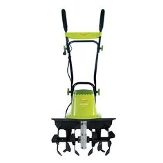 Sun Joe TJ603E 16-Inch 12-Amp Electric Tiller and Cultivator Garden Tool Green  #SnowJoe