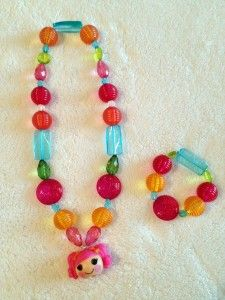 #Win this super cute Lalaloopsy Necklace & Bracelet! http://hotpinknchocolate.com/win-a-lalaloopsy-necklace-bracelet/#