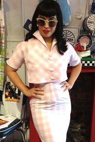 Rizzo Gingham Top
