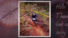 This is the memory of  late picture taken  ; Downhill track  at Kareumbi West Java, Indonesia