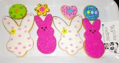 Recordando pedidos de #Easter de el año pasado. Haz tu orden con tiempo, para tu actividad escolar o familiar. Espacios limitados. ❤😍🍪😋🐼👏👍🐰🐣🐇🐤 #IloveEaster #eastercookies #easterorders #mycookiecreations