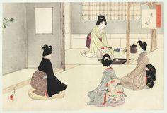 japanese tea ceremony print - Google Search
