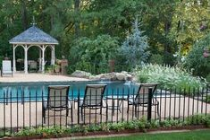 13 Latest and Elegant Wrought Iron Pool Fence Ideas