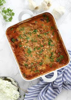 Vegetar Moussaka opskrift - Virkelig lækker og nem kødfri ret Eat The Rainbow, New Flavour, Plant Based Recipes, Cottage Cheese, Food Porn, Keto, Tapas, Dinner, Vegetables