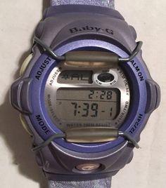 Casio G Shock Baby G Purple Watch W/ Floral Band BG-156     eBay
