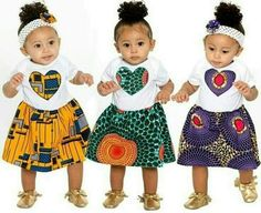 beautiful ankara styles for baby girls and littles, ankara styles for kid girls, ankara styles for girls, ankara styles for babies, beautiful and stylish ankara designs ideas for baby girls and little girls Baby African Clothes, African Dresses For Kids, African Babies, African Children, African Print Fashion, African Fashion Dresses, Ghanaian Fashion, African Prints, African Attire