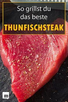 #Thunfisch #grillen leicht gemacht: So geht's! #bbq #männerküche #rezept #tuna