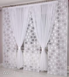 Home Curtains, Hanging Curtains, Curtains With Blinds, Kitchen Curtains, Warm Bedroom, Bedroom Wall, Bedroom Windows, Rideaux Design, Diy Furniture Decor