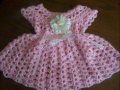 [Video Tutorial] Your Little One Will Enjoy The Summer In Style With This Beautiful Crochet Dress - Knit And Crochet Daily
