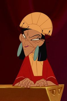 Kuzco and Yzma | This Is What Disney Heroes And Villians Look Like With Their Faces Swapped