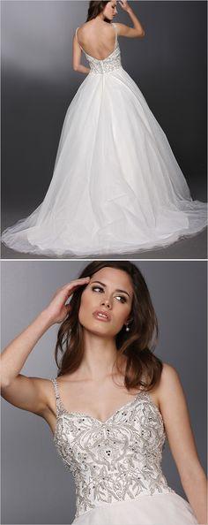 DaVinci Bridal Ball Gown #weddingdress #ballgown #weddingchicks http://www.weddingchicks.com/2014/03/18/davinci-bridal-gowns-2014/