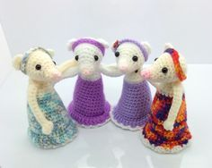 Lonemer Creations: Lily the Mouse, free pattern 10/15
