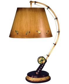 fishing decor | Flying Fish Rod Table Lamp - Product Reviews and Prices - Shopping.com