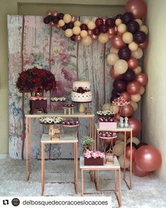 Ideas Birthday Balloons Adult Baby Shower For 2019 Bridal Shower Decorations, Balloon Decorations, Birthday Party Decorations, Birthday Parties, Candy Table, Dessert Table, Decoration Buffet, Engagement Decorations, Birthday Balloons