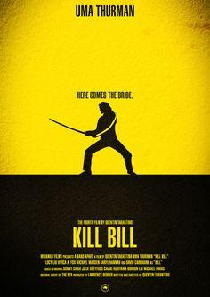 KILL BILL VOL.1 Art Print