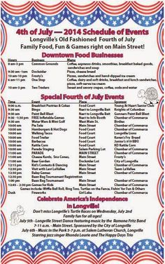 Lakes Area Latest: Longville MN 4th of July Schedule of Events http://www.lakesarealatest.com/2014/07/longville-mn-4th-of-july-schedule-of.html