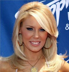 Side swept bangs.  Gretchen Rossi.