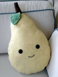 Bartie the Pear Pillow
