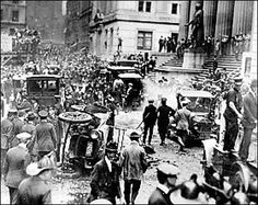 The Unsolved Mystery Of Wall Street Bombing: In 1920 The Wall Street bombing on September 16 was never solved. To this day, it remains another unsolved mystery. Mystery Of History, Us History, American History, Paranormal, Broken Window, Nyc, Interesting History, Interesting Stuff, New York