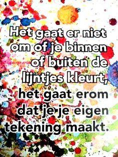Buiten de lijntjes kleuren, creatieve therapie www.facebook.com/info.zin   www.info-zin.nl