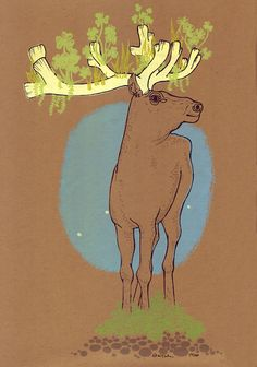 Animalsleepstories, The Old Caribou