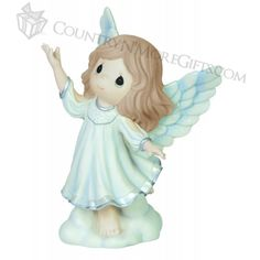 Precious Moments Figurines - Annual Santa and Snowman - Lift Every Voice and Sing - Annual Angel 5th in Series