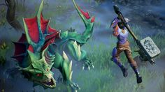 Monster Hunter clone Dauntless seems perfect for players on a budget screenshot