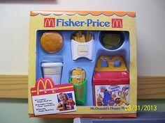 Vintage Fisher Price Fun with Food McDonalds Happy Meal NIB | eBay