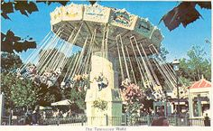 Opryland USA the Tennessee Waltz ride. I miss you Opryland..