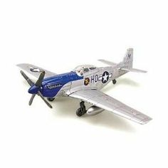 1/48 P-51 Mustang by Testor Corp.. $15.71. This is a 1/48 Scale P-51 Mustang Snap Together Model Kit from Testors. Skill Level 1, for Ages 8 and Up. FEATURES Easy snap and screw assembly--no glue is needed. Plastic parts are prepainted and decorated. Recessed panel lines for realistic appearance. Painted silver with a blue nose. Blue spinner and grey propeller with yellow tips. Detailed cockpit with pilot figure. Realistic landing gear with rolling wheels. Inclu...